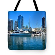 San Diego South Park Marina Tote Bag