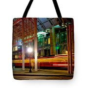 San Diego Trolley Station Tote Bag