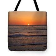 San Eljio Sunset Ca Tote Bag