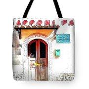 San Felice Circeo Door Of The School Tote Bag