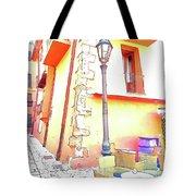 San Felice Circeo Strret Lamp Tote Bag