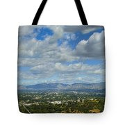 San Fernando Valley Panorama Tote Bag