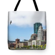 San Francisco Waterfront Tote Bag