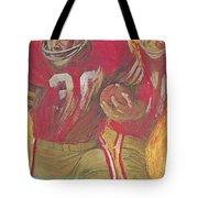 San Francisco 49ers Vintage Program 2 Tote Bag
