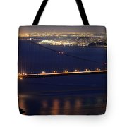 San Francisco At Night Tote Bag
