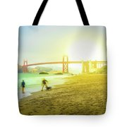 San Francisco Baker Beach Tote Bag