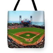 San Francisco Ballpark Tote Bag
