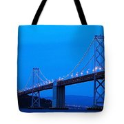 San Francisco Bay Bridge Tote Bag