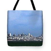 San Francisco Bay Tote Bag