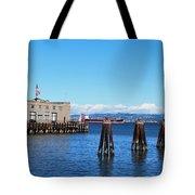 San Francisco Bay Trail View Tote Bag