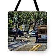 San Francisco, Cable Cars -1 Tote Bag