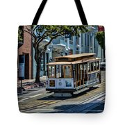 San Francisco, Cable Cars -2 Tote Bag
