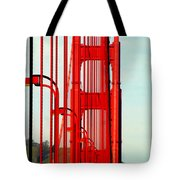San Francisco Golden Gate Bridge Symphony In California Tote Bag