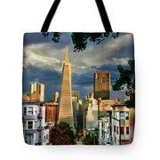 San Francisco Cliff Tote Bag