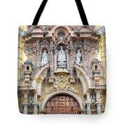 San Francisco Convent Facade Tote Bag