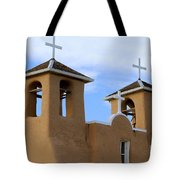 San Francisco De Asis Mission Bell Towers Tote Bag