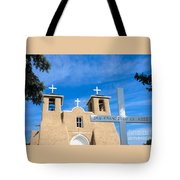 San Francisco De Asis Mission Church Tote Bag