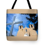 San Francisco De Asis - Rancho De Taos Tote Bag