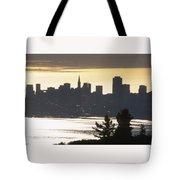 San Francisco - From Tamalpais East Tote Bag