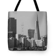 San Francisco From Treasure Island Tote Bag