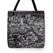 San Francisco From Twin Peaks Tote Bag