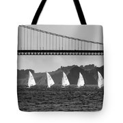 San Francisco Seascape Tote Bag