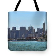 San Francisco Skyline -1 Tote Bag