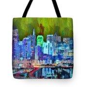San Francisco Skyline 115 - Pa Tote Bag