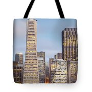 San Francisco Skyline 2 Tote Bag