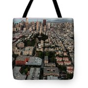 San Francisco Skyline And Coit Towersan Francisco Skyline And Coit Tower Tote Bag