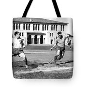 San Francisco Soccer Match Tote Bag