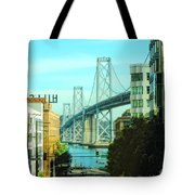 San Francisco Street Tote Bag