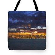 San Francisco Sunset Tote Bag