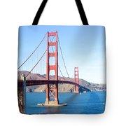 San Francisco's Golden Gate Bridge Tote Bag