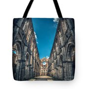 San Galgano Church Ruins In Siena - Tuscany - Italy Tote Bag