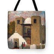 San Geronimo De Taos Spanish Mission Tote Bag