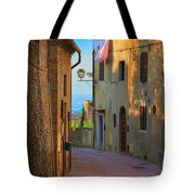 San Gimignano Alley Tote Bag