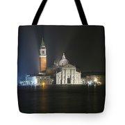 San Giorgio Maggiore By Night Tote Bag