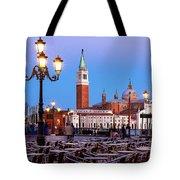 San Giorgio Maggiore From Piazza San Marco - Venice Tote Bag