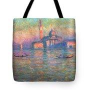 San Giorgio Maggiore Venice Tote Bag by Claude Monet