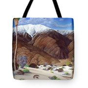 Snow Creek  Tote Bag