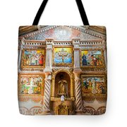 San Javier Church Altar Tote Bag