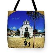 San Juan Chamula Church In Chiapas, Mexico Tote Bag