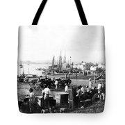 San Juan Harbor - Puerto Rico - C 1900 Tote Bag
