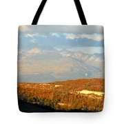 San Juan Mountains Tote Bag