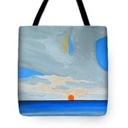 San Juan Sunrise Tote Bag