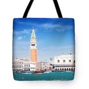 San Marco Square Waterfront Tote Bag