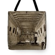 San Miguel Mission California Circa 1915 Tote Bag