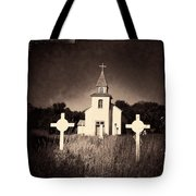 San Patricio Church IIi Sepia Tote Bag