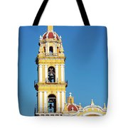 San Pedro Church Tower Tote Bag
